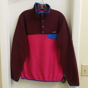 😍 Patagonia synchilla fleece pullover size Large